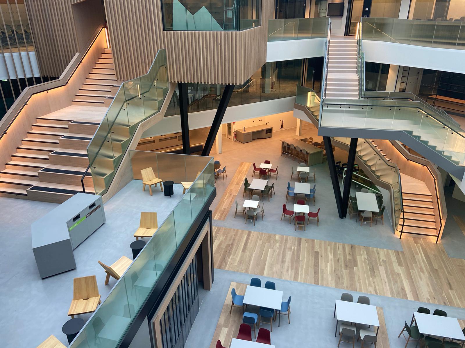 interior of One Microsoft Court