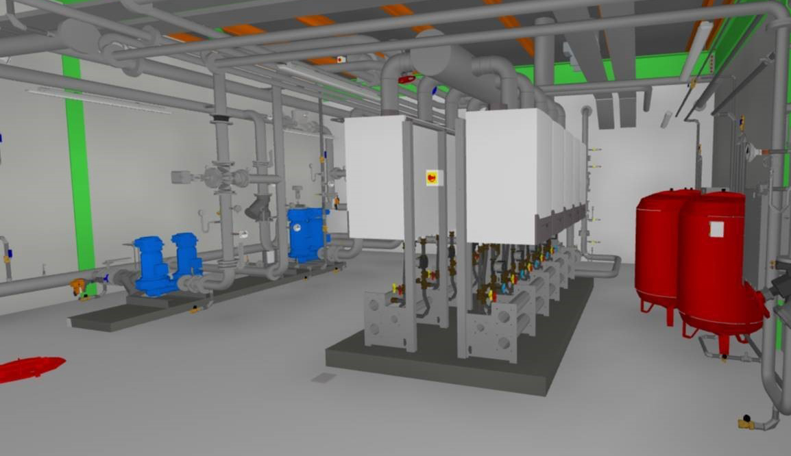 Mechanical Plant BIM Image
